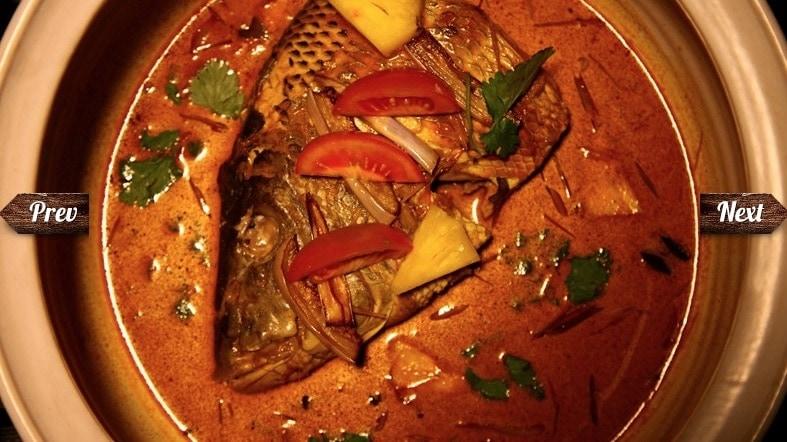 魚の頭のカレー画像