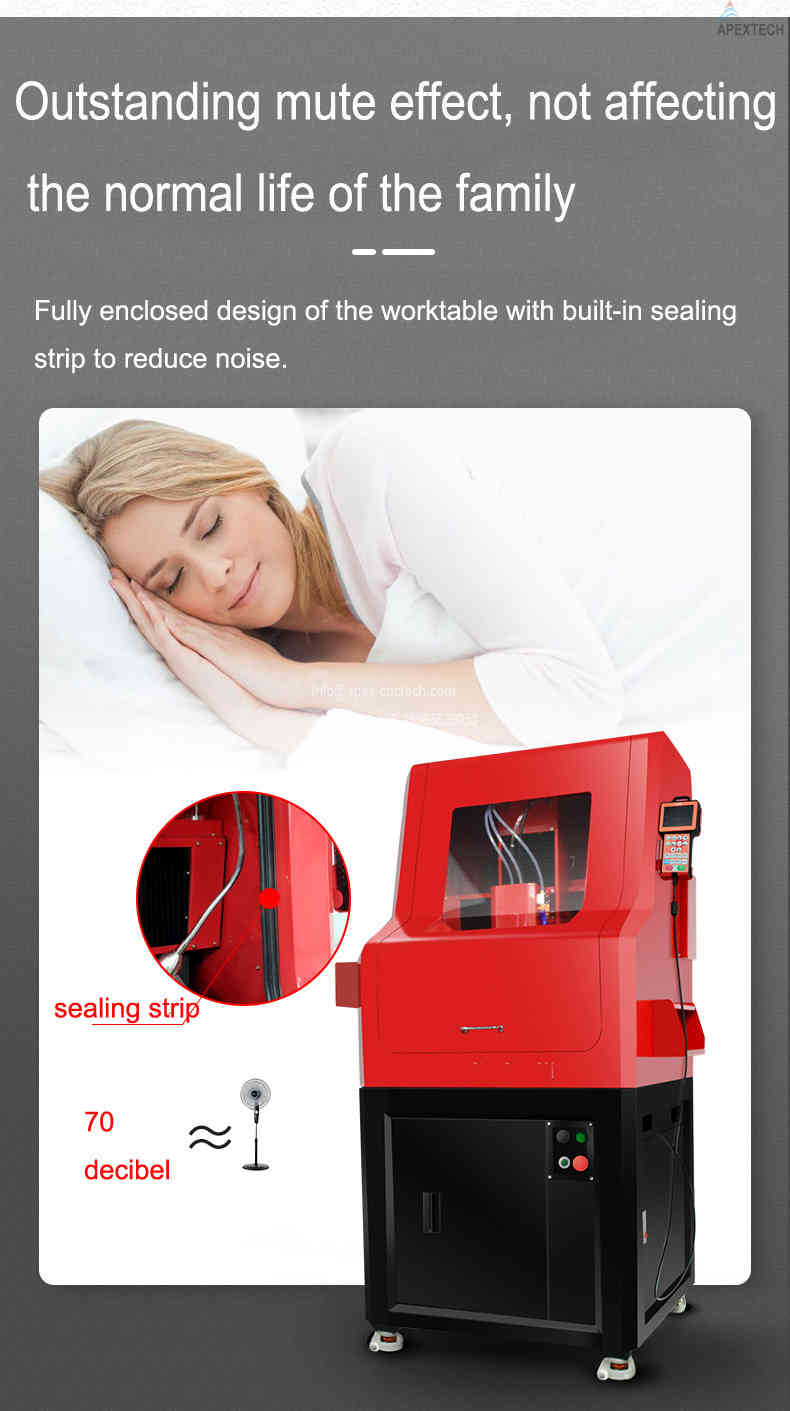 4030 benchtop cnc mill machine for stone carving