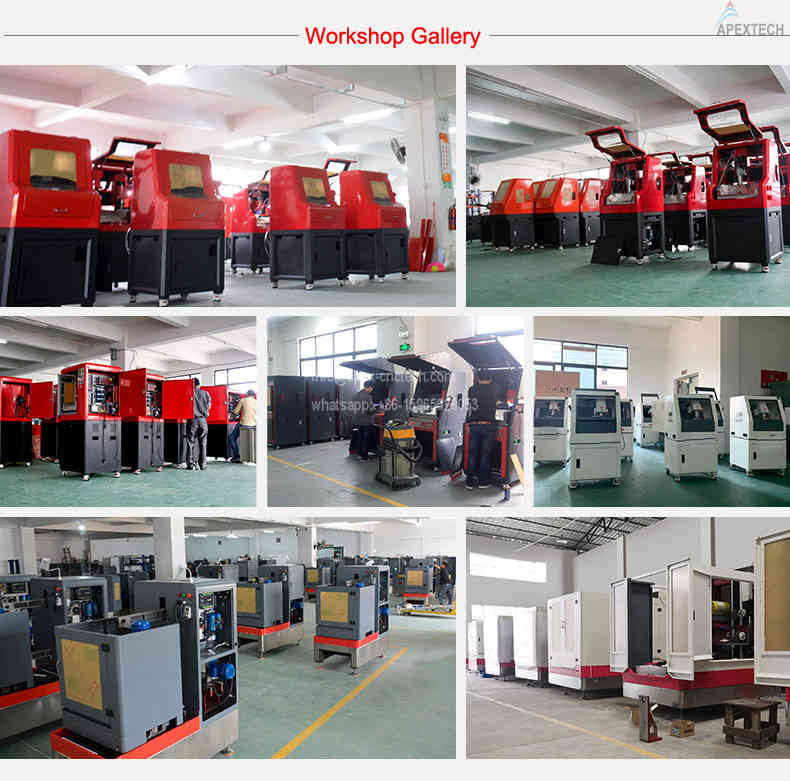 AH 5030 4 Axis Address Stone Engraving CNC Router Machine