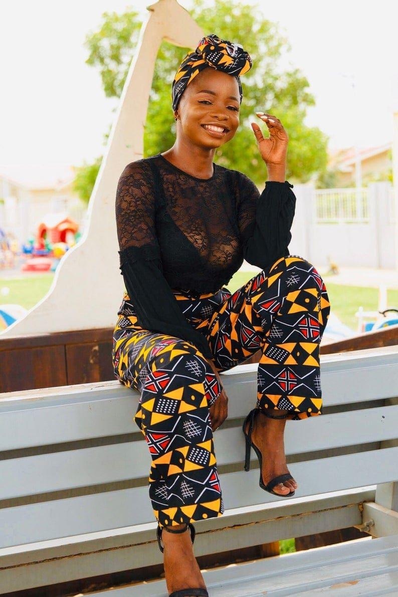 Vibrant African pant by La Mode Afrique