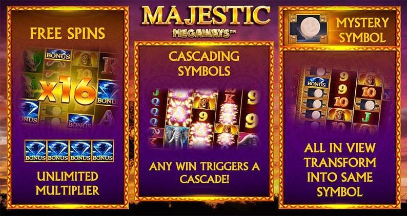 Majestic Megaways Bonus