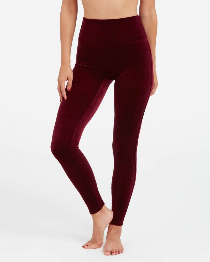 Spanx Velvet Leggings - I tried several Spanx leggings and work pants? Do they all live up to the hype? These are the best Spanx leggings right now.