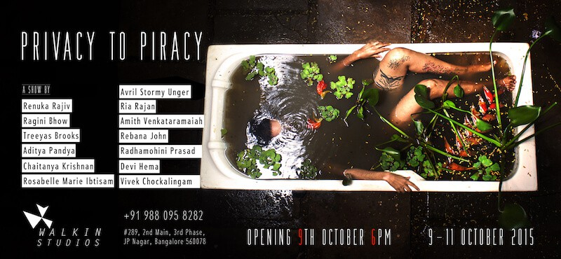 Walkin Studios, Bangalore. Image 4. Privacy to Piracy poster.