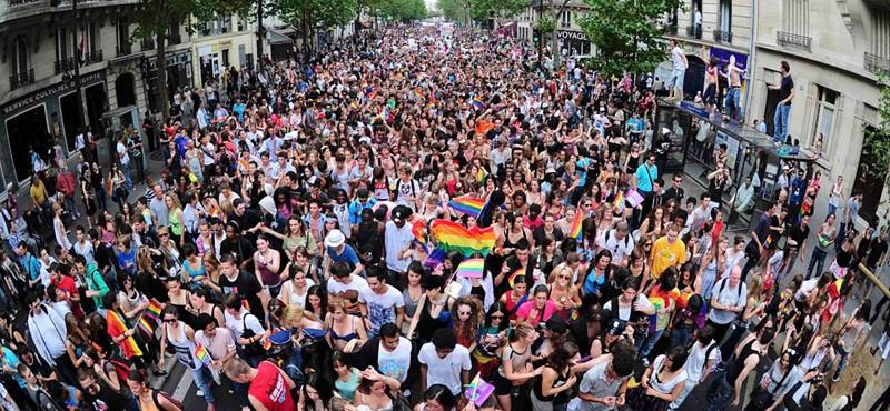 Paris Gay Pride Parade