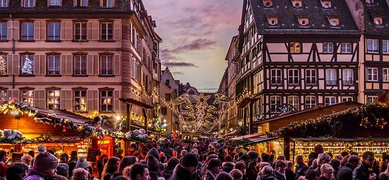 Страсбург рождественские рынки