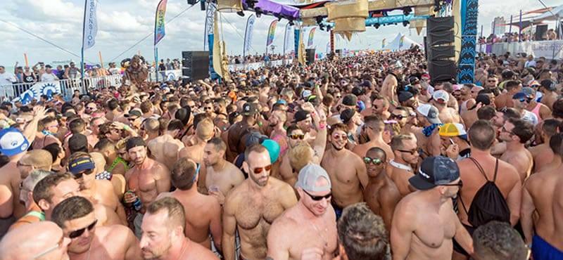 La Leche Beach Party - Miami Circuit Party Weekend