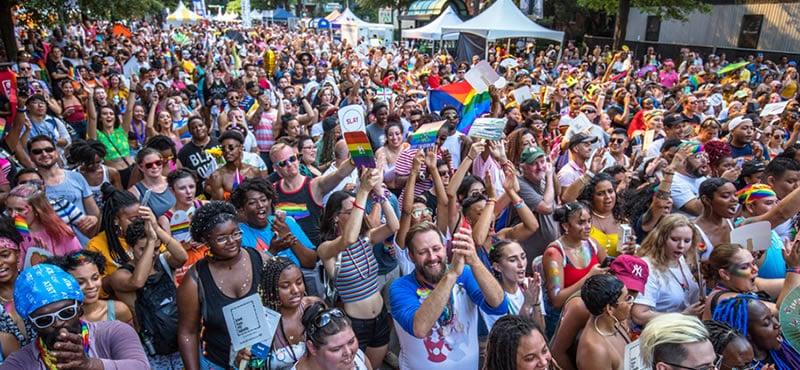 Festival y desfile del orgullo de Charlotte