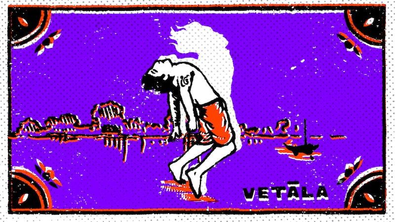 The Vetala of False Creek. Illustration by Sroop Sunar.