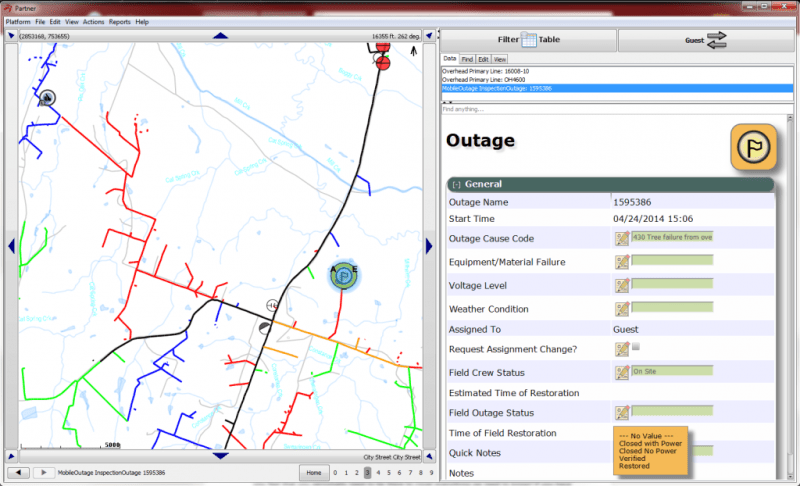 Mobile Outage screenshot