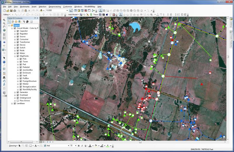 Geographic Information Systems screenshot