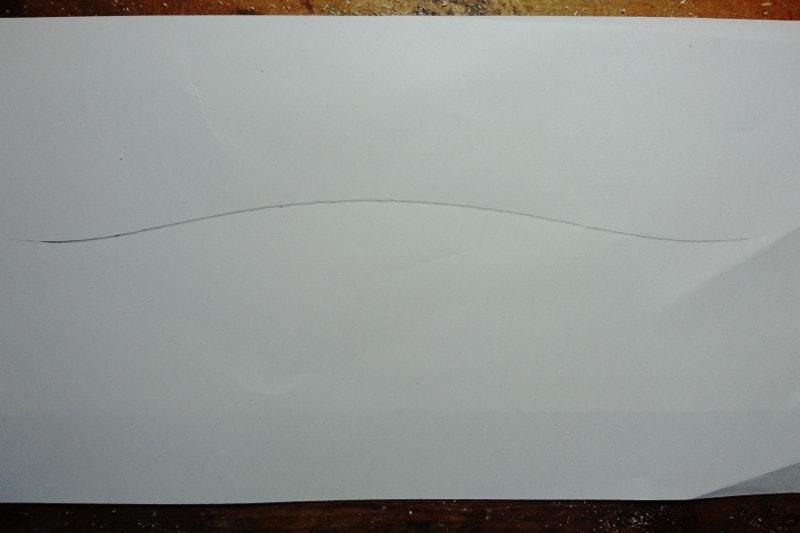 円盤を使って紙に描かれた曲線
