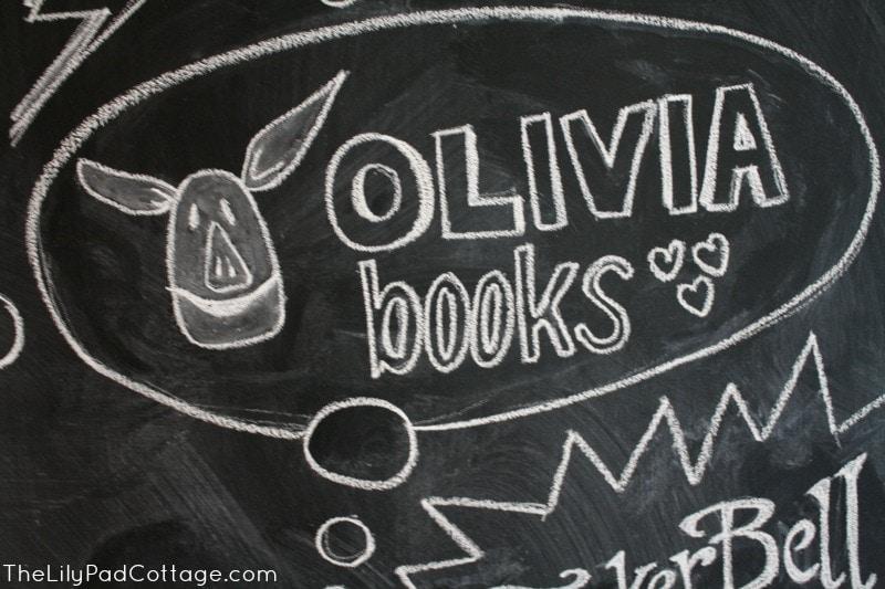 Kids chalkboard art