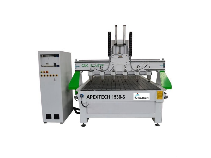 C1530SM-6 Spindles Automatic Wood Engraving CNC Router Equipment