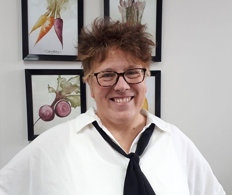 Marie-France Lavoie, administratrice du conseil d'administration de la CDC H-L