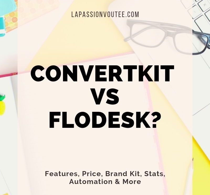 #emailmarketing 6 reasons why I love Flodesk and why it took me 3 years to finally switch from ConvertKit to Flodesk. What I love and dislike about this new visually-enticing email marketing software. #flodesk #newsletterlayout