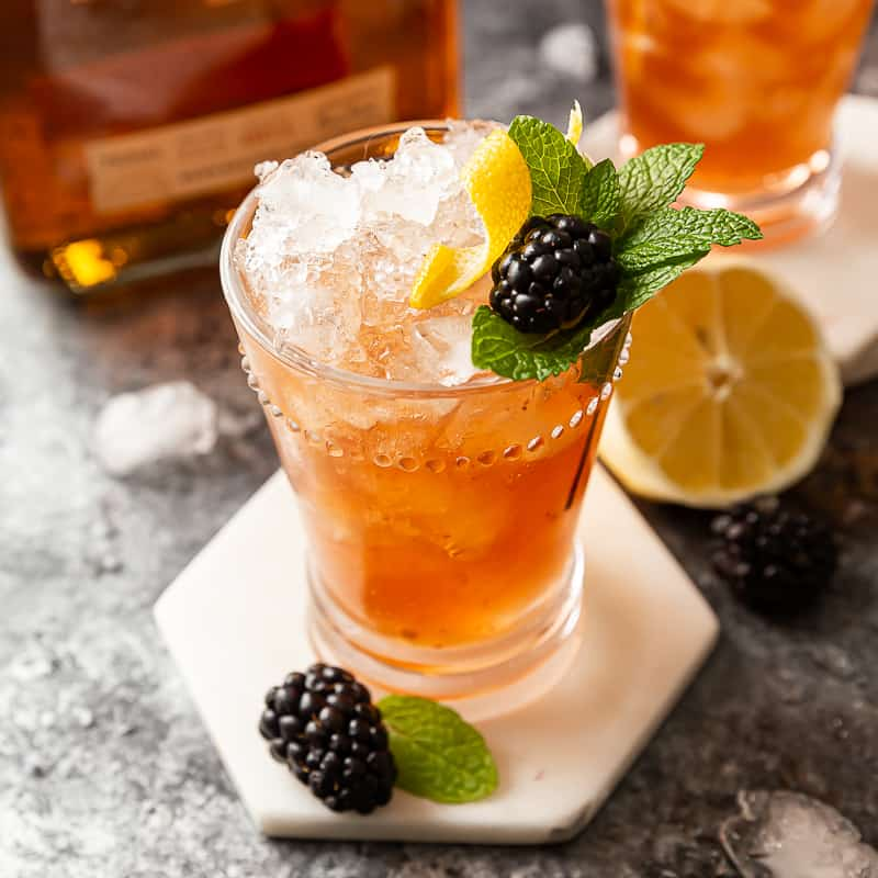blackberry bourbon bramble