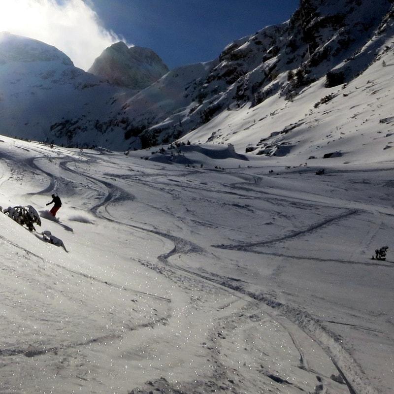 Ски преход в долината на Мальовица