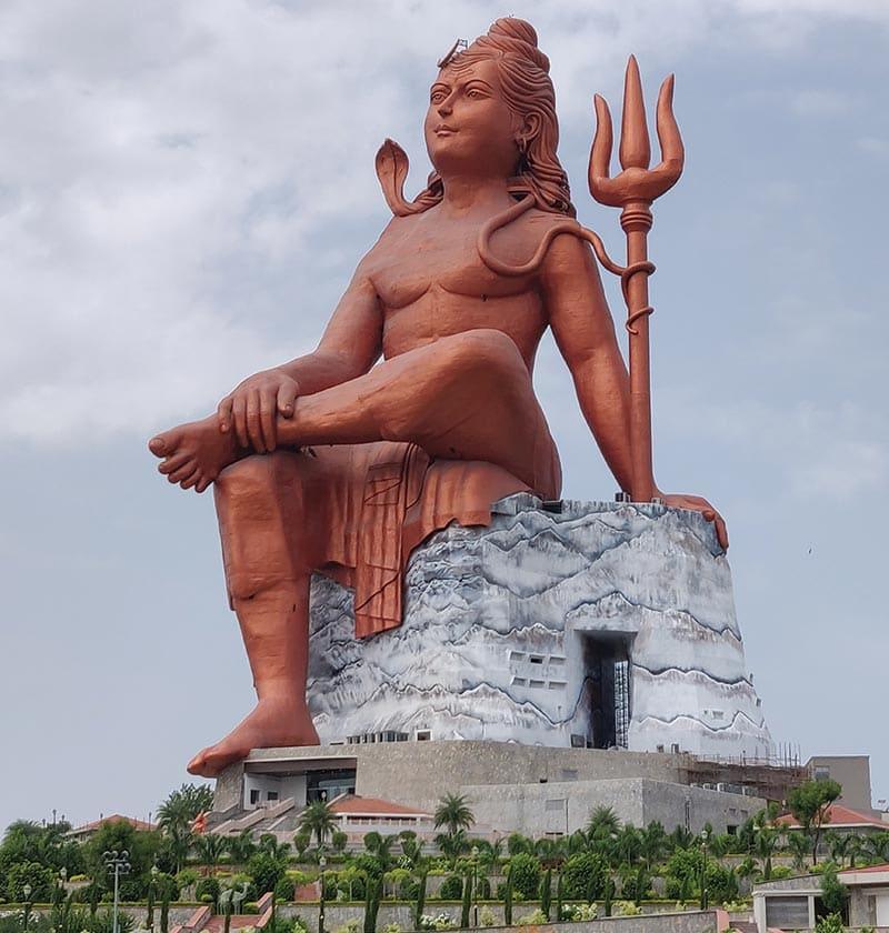 Shiv statue   nathdwara taxi service