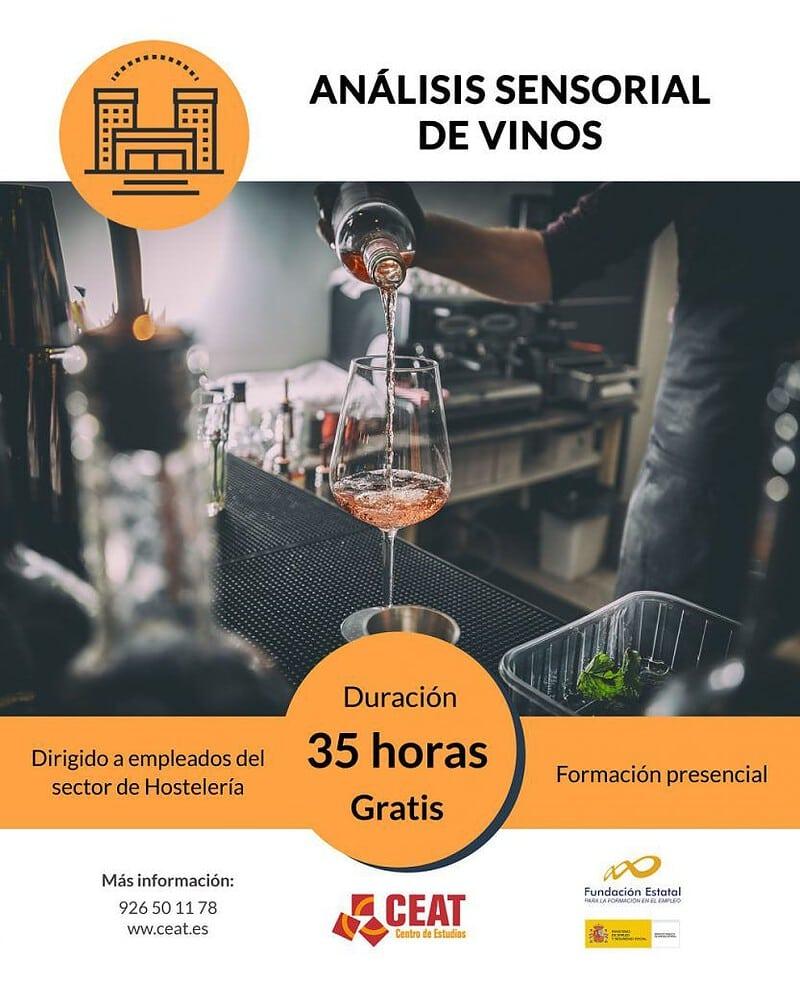 curso análisis sensorial de vinos para empleados