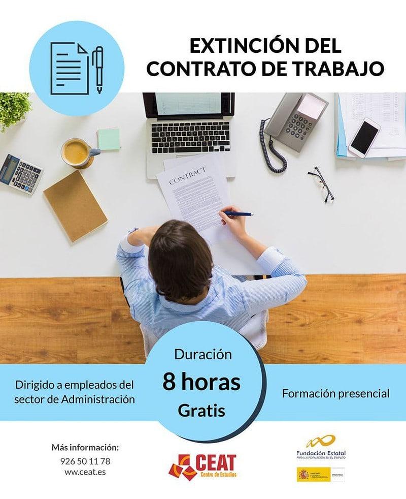 curso de extinción del contrato de trabajo para empleados