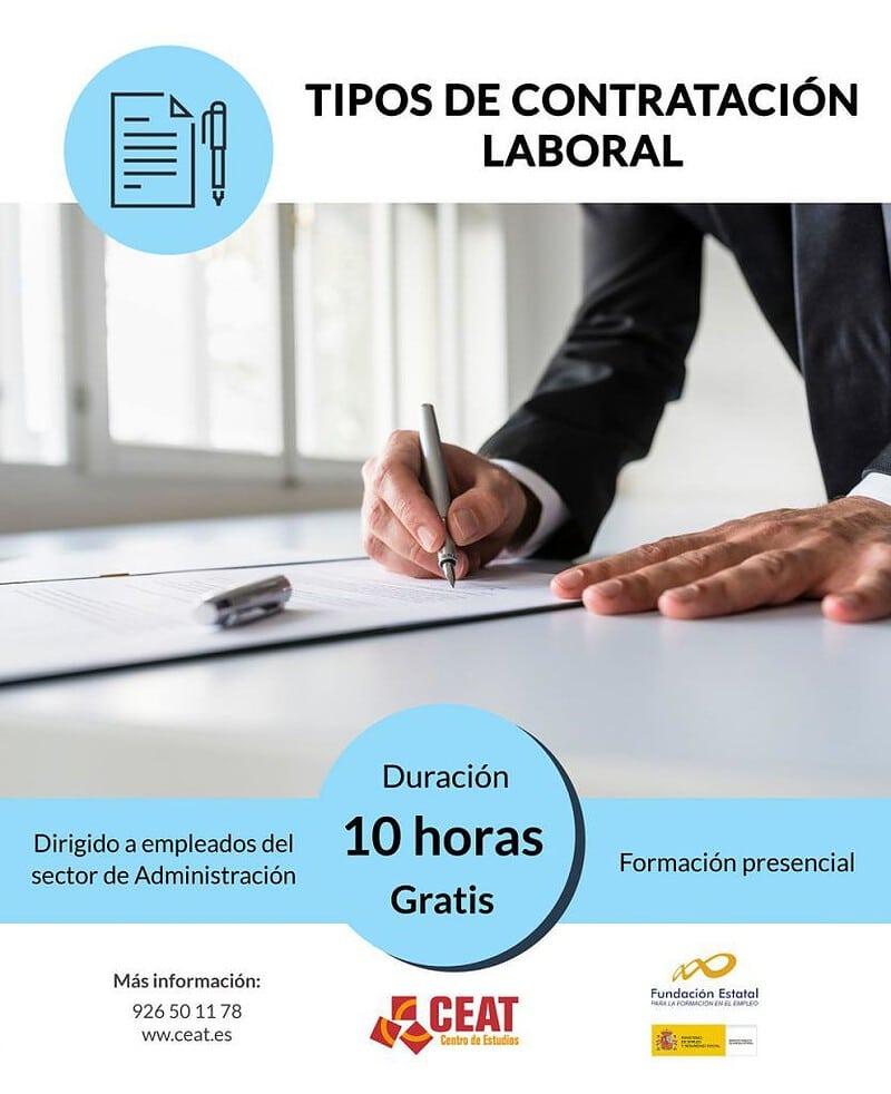curso de tipos de contratación laboral