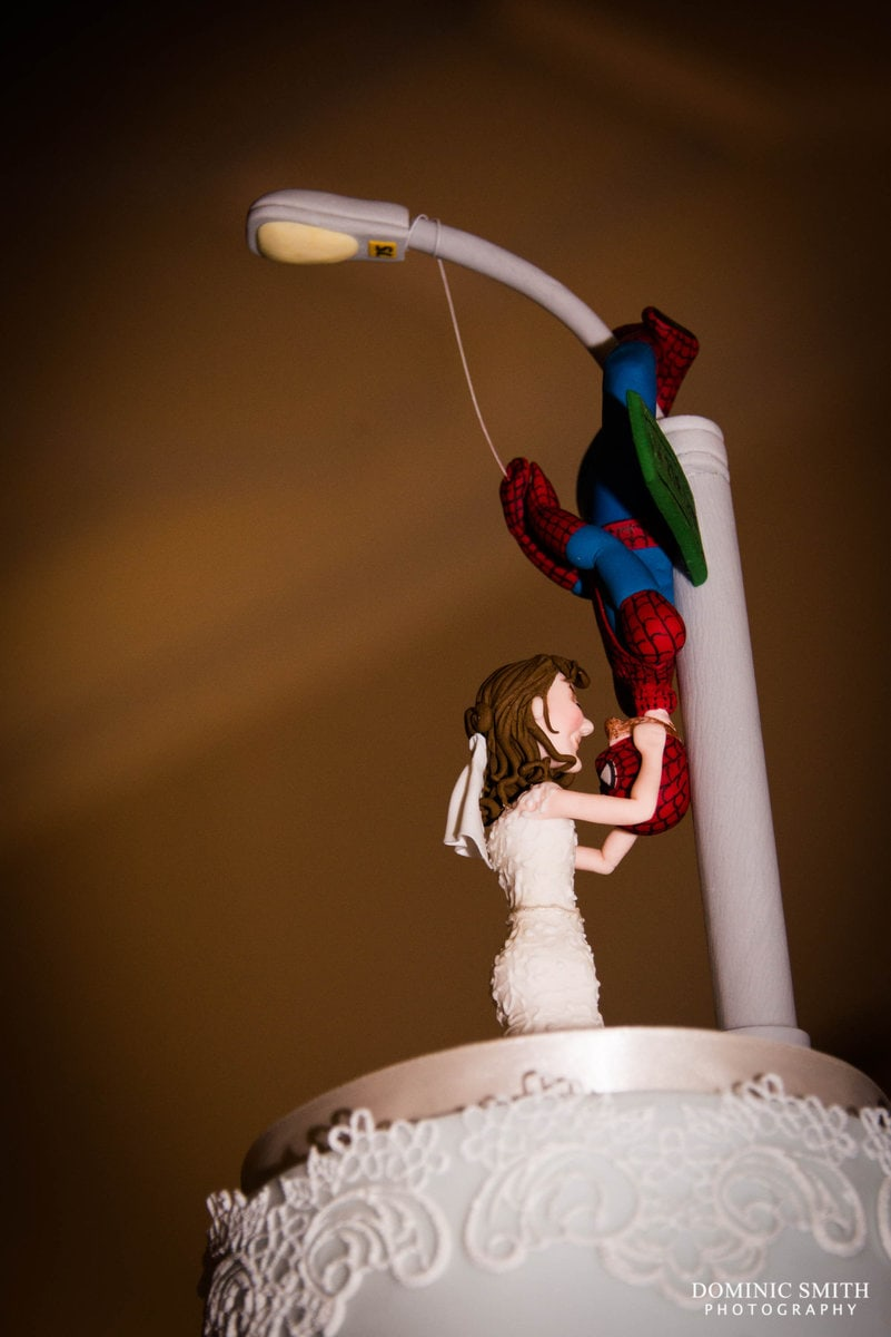 Spiderman Wedding Cake