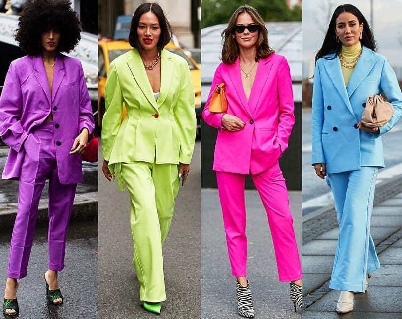 garnitury damskie - wiosna 2021