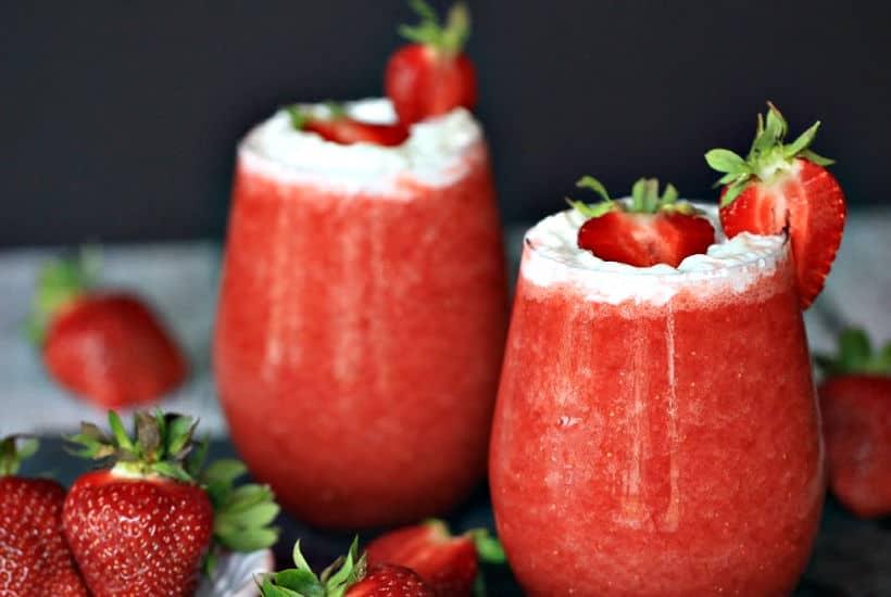 Strawberry Shortcake Daiquiri