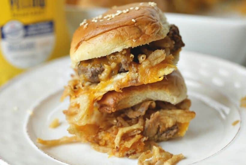Cheeseburger Party Sliders