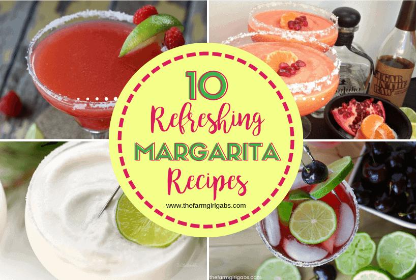 10 Refreshing Margarita Recipes