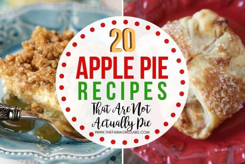 Apple Pie Desserts That Aren't Actually Pie