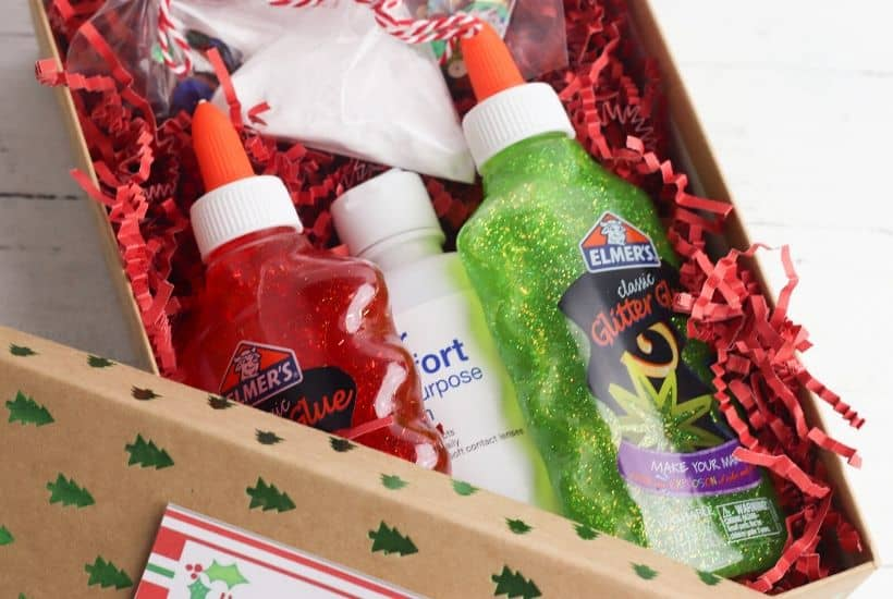 Christmas Slime In A Box Gift Idea