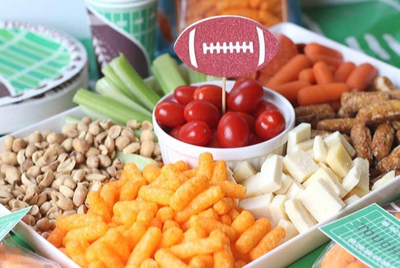 Football Party Snack Tray