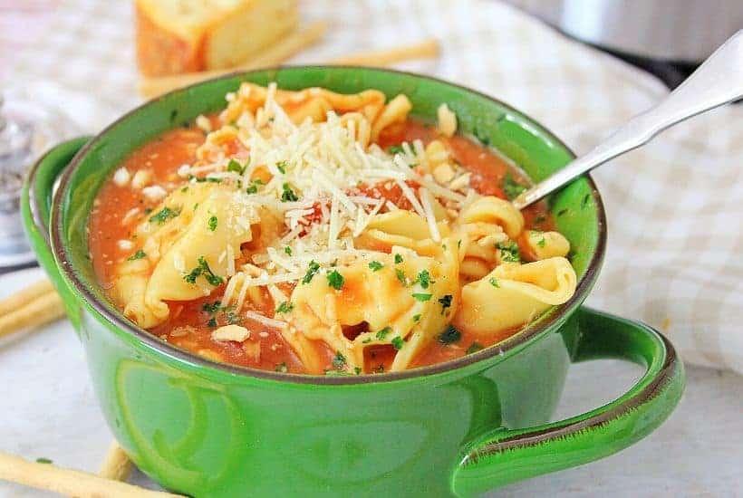Instant Pot Chicken Parmesan Soup