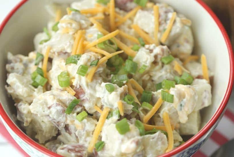 The Best Loaded Baked Potato Salad