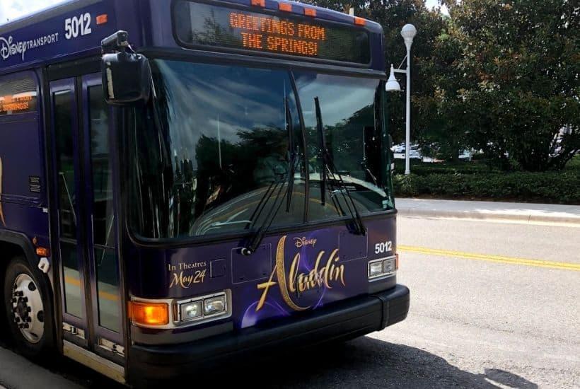 Disney transportation bus