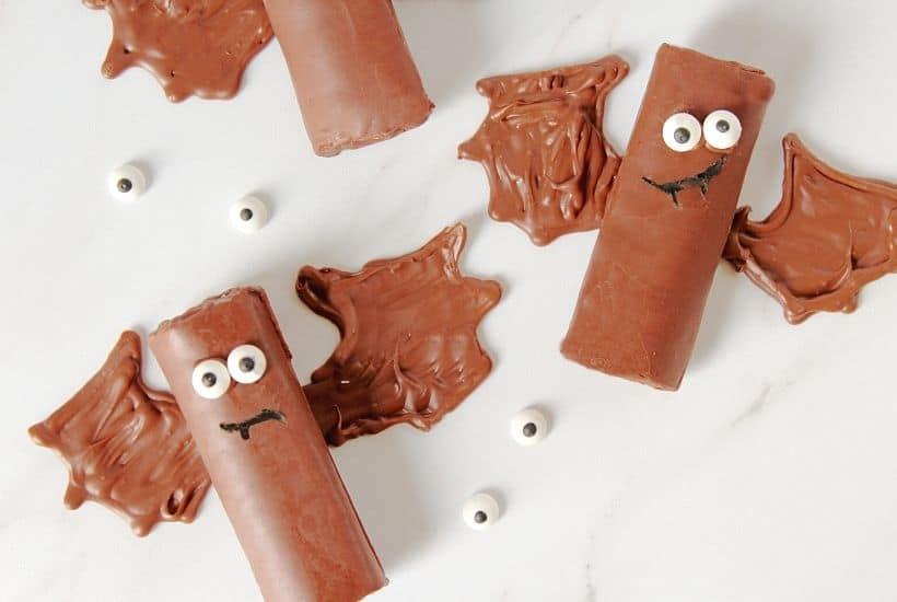 Halloween Bat Snack Cakes