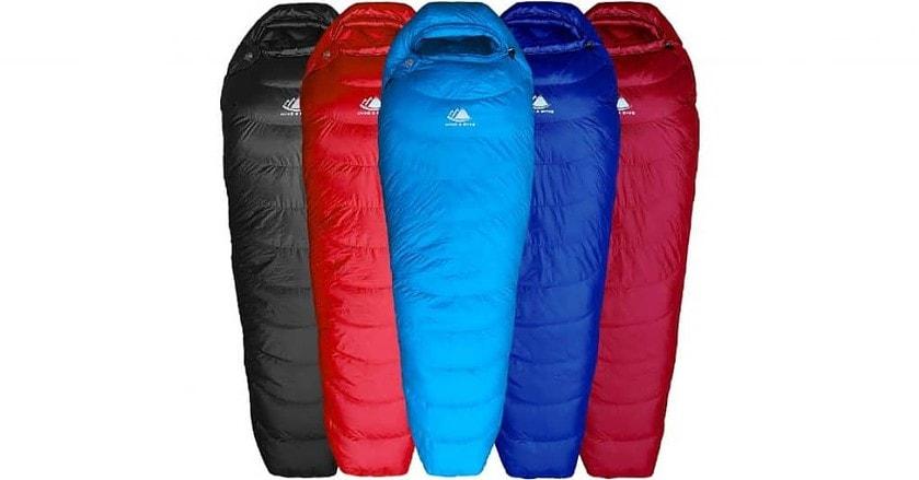 Hyke Byke Shavano 32 Degree Sleeping Bag