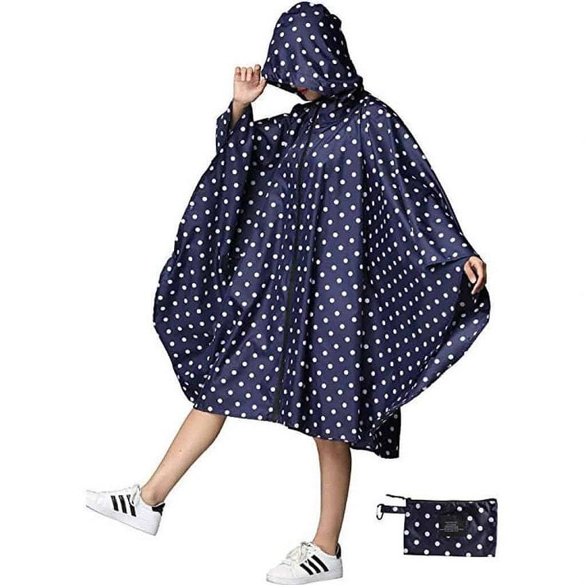 Women rain poncho waterproof - photo 4