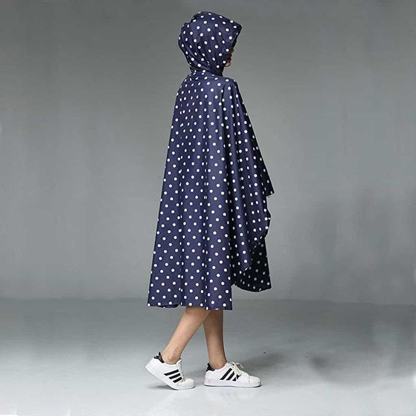 Women rain poncho waterproof - photo 2