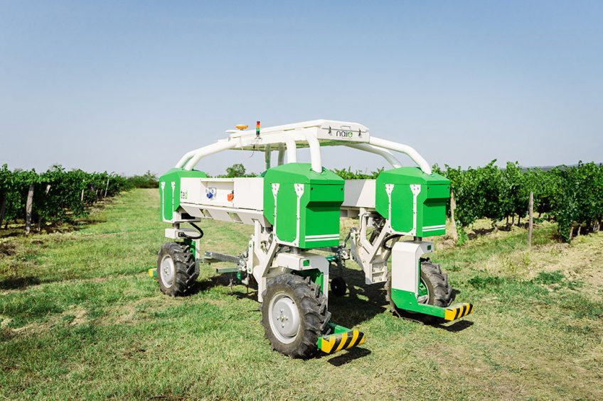 Naio Technologies launches new version of Ted vineyard robot