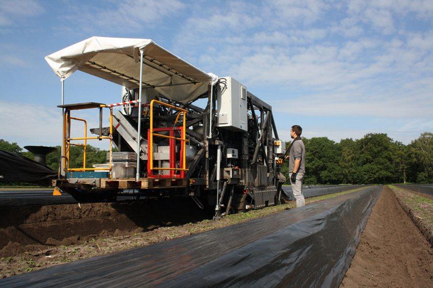 Autonomous asparagus harvesters minimise labour