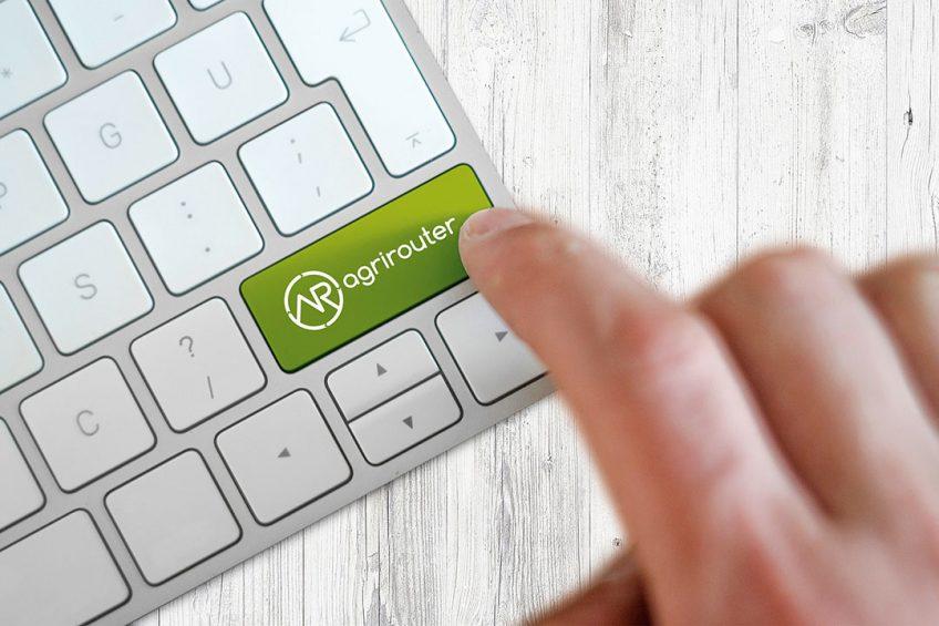 Agrirouter machine data exchange platform online