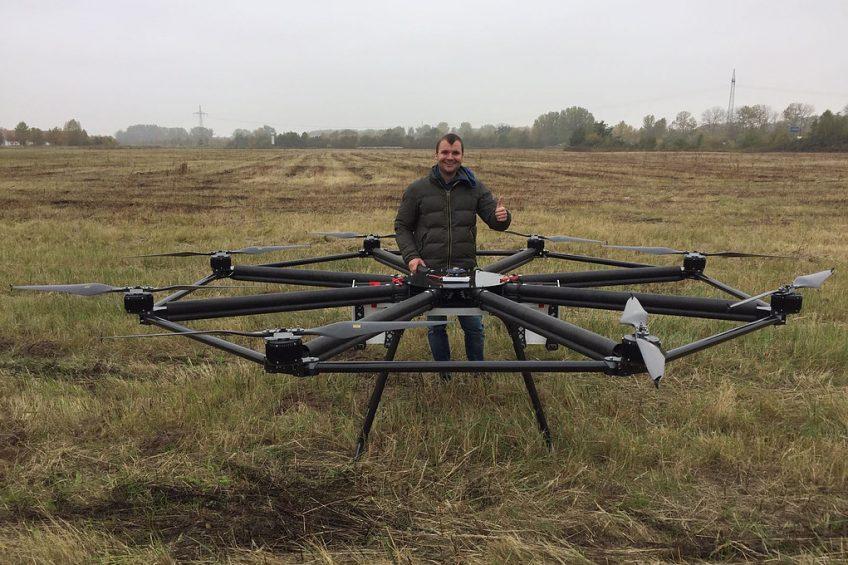 Rauch launches this fertiliser-spreading drone