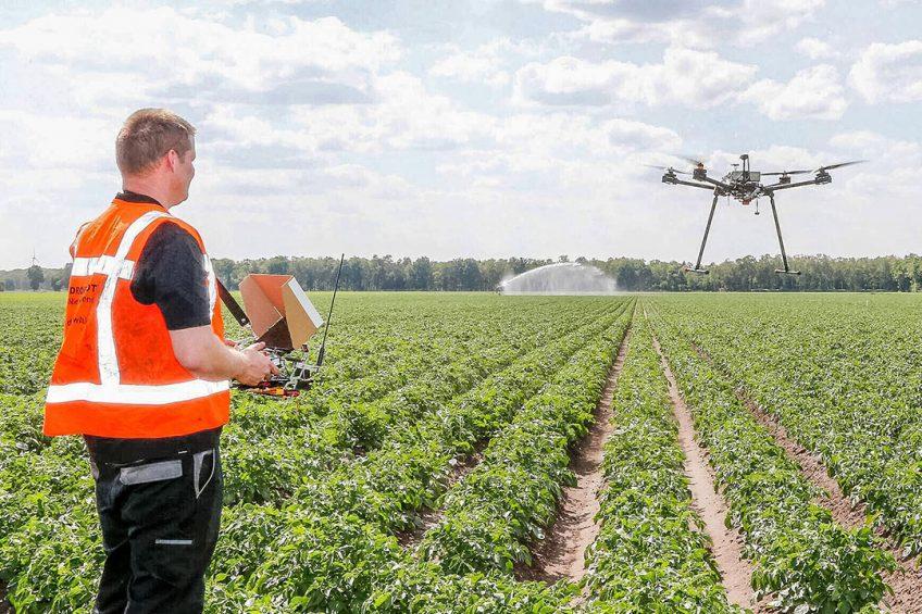 Dutch potato grower starts own drone airport