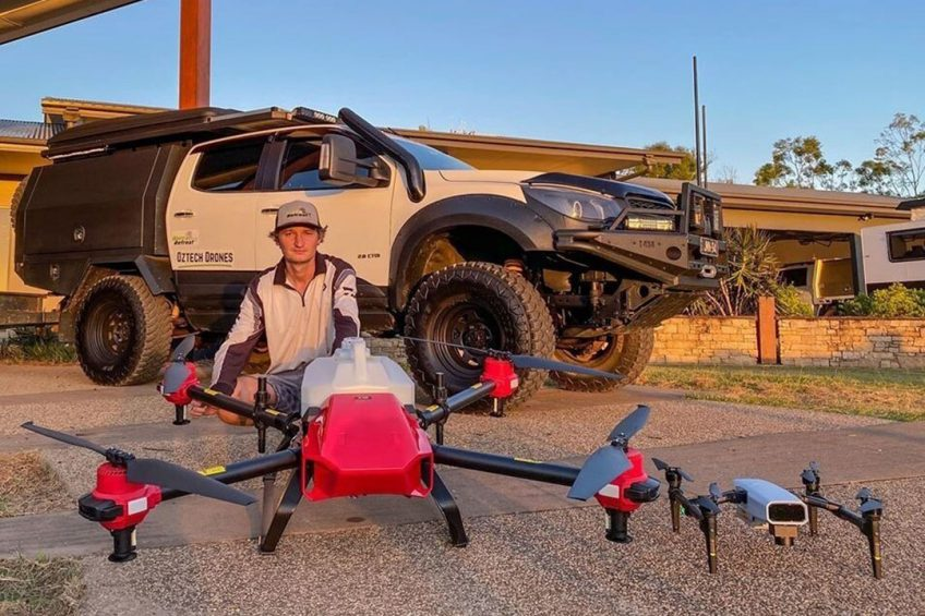 Australia s Younger Agricultural Workforce Step up with XAG Drone for the Soaring Winter Crops