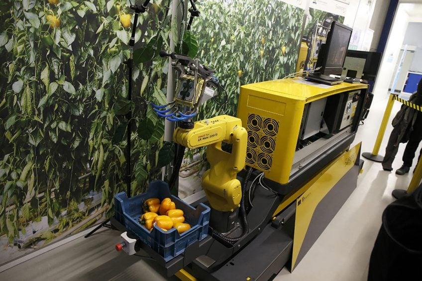 Wageningen, agrofood robotics. fotografie Hans PRinsen