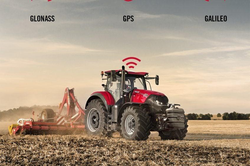 Case IH RTK+ auto-steering now also uses Galileo GPS