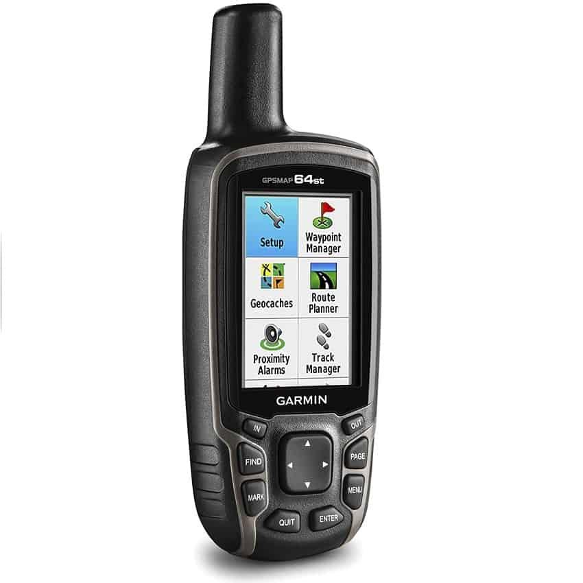 Garmin GPSMAP 64st With High-Sensitivity GPS