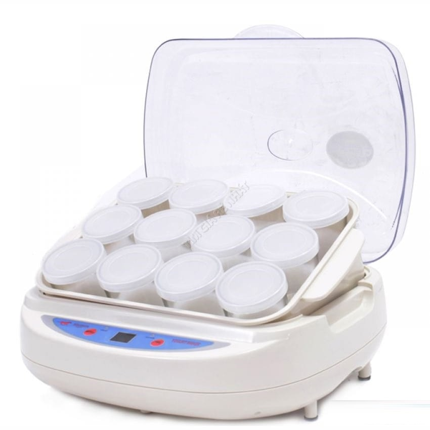 Máy làm sữa chua 12 cốc thủy tinh Misushita SGP-1030